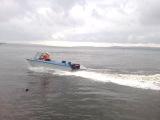 Лодка Ока-4 пробный выезд